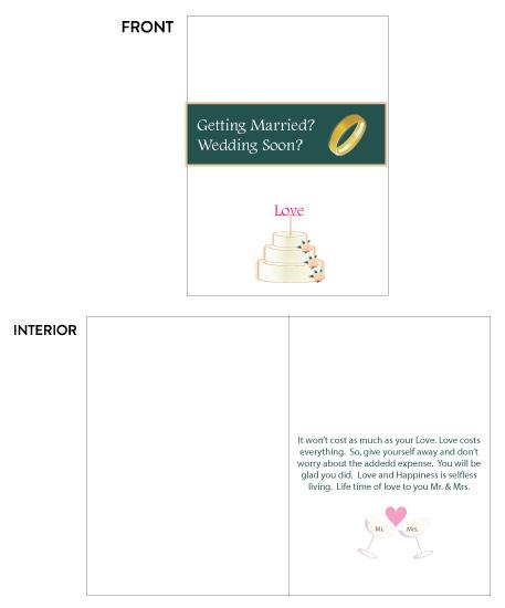 greeting card - Getting Married Wedding Soon by Joyfuldesignsklmr