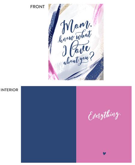 greeting card - Everything Mom by Melanie Severin
