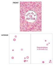 Baby Cute as a Button P... by Kate Pitner