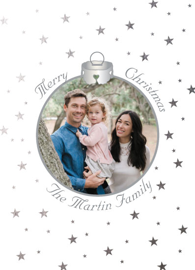 holiday photo cards - Starlight Star Bright Christmas by Cheryl Rench Powell