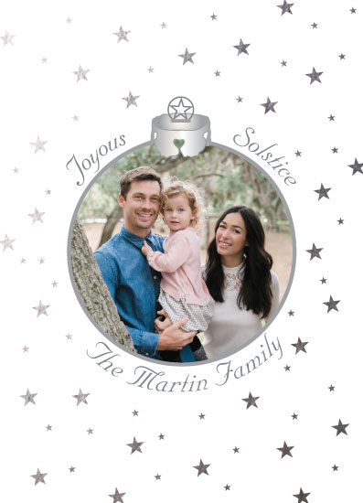 holiday photo cards - Starlight Star Bright Solstice by Cheryl Rench Powell