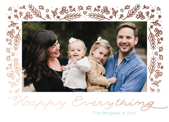 holiday photo cards - Happy Everything by Ilze Lucero