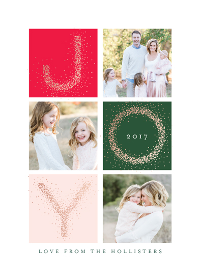 holiday photo cards - Abundant Joy by Kristie Kern