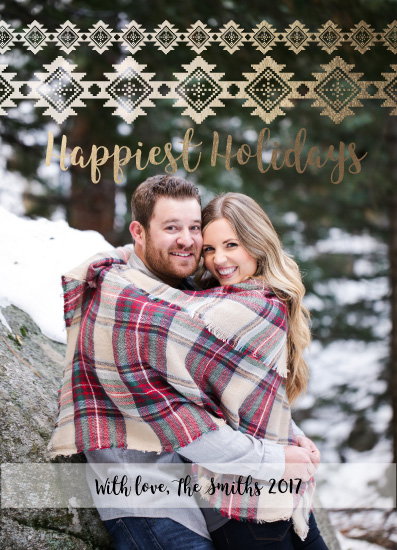 holiday photo cards - Happy Holidays to you by Irini