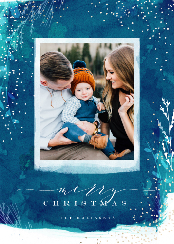 holiday photo cards - Snowprint by Lori Wemple