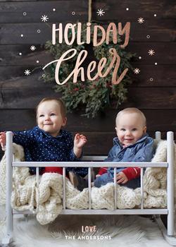 Snowing Holiday Cheer