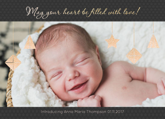 holiday photo cards - May your heart by Julia Khimich