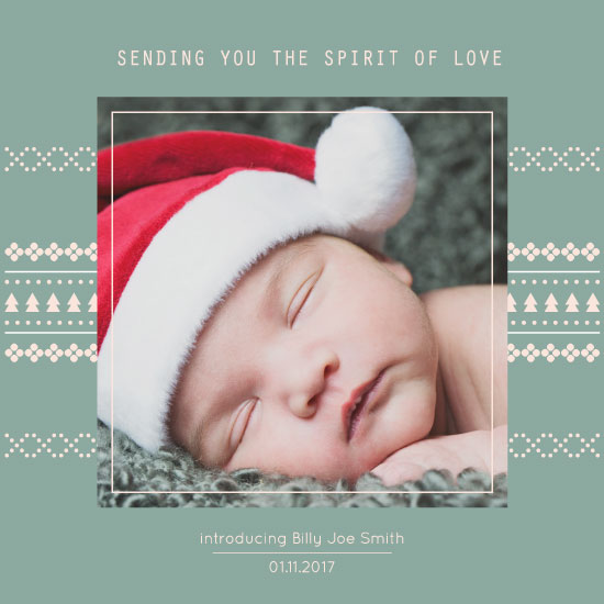 holiday photo cards - Sending spirit by Julia Khimich