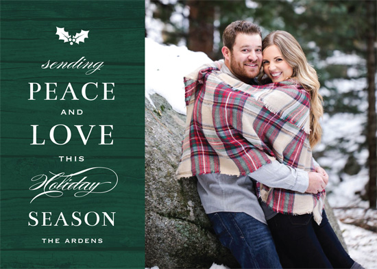 holiday photo cards - Woodsy Holiday by Gray Star Design