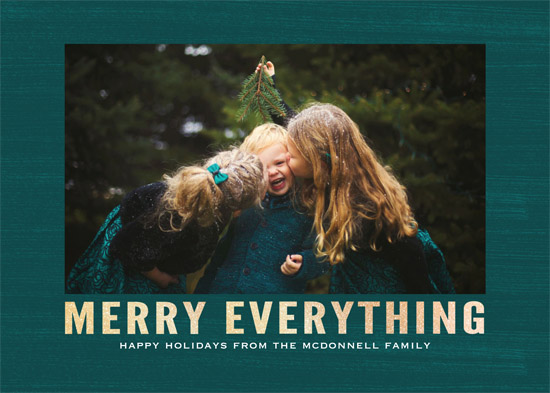 holiday photo cards - Merry Flow by Gray Star Design