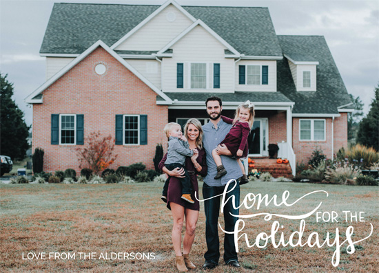 holiday photo cards - Painted holiday home by Jennifer Allevato