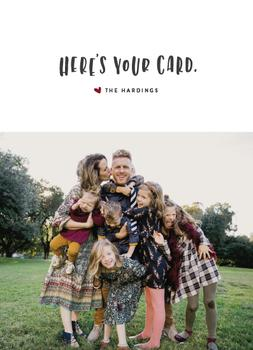 Here's Your Card