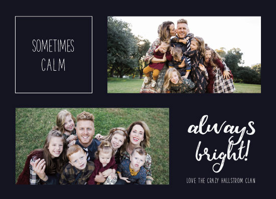 holiday photo cards - Always Bright by Moxie