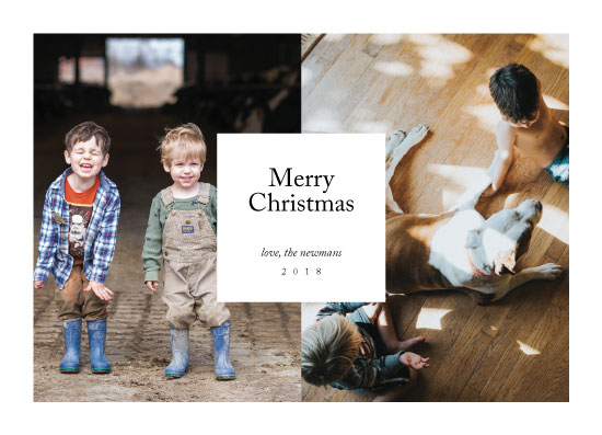 holiday photo cards - Editorially by The Carillos