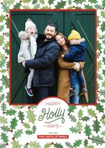 Happy HollyDays by Paper Route Studio