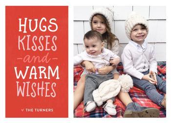 hugs kisses warm wishes