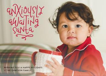 Anxiously Awaiting Santa