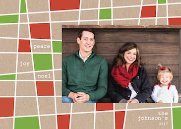 holiday photo cards - peace joy noel by lulablu