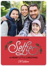 Selfie Christmas by Maria Watkins