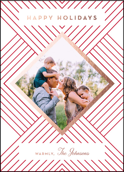 holiday photo cards - Holiday Deco by Nibby Press