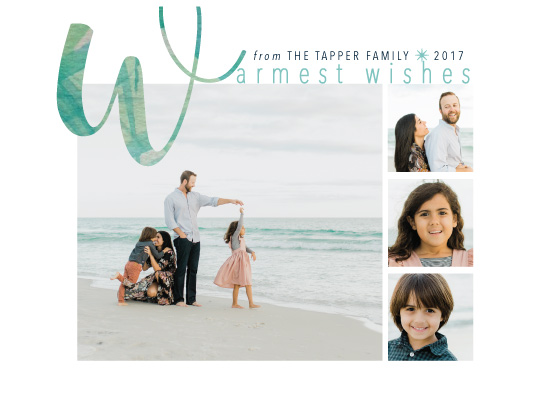 holiday photo cards - Seaside Holiday by Tresa Meyer-Clark