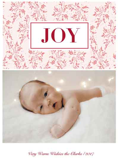 holiday photo cards - most wonderful by Neeta Sawhney