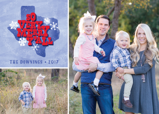 holiday photo cards - Merry Texas by Laura Bolter Design