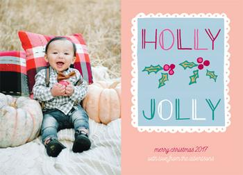 Holly Jolly Stamp