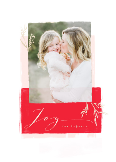 holiday photo cards - Modern Vintage by Lori Wemple