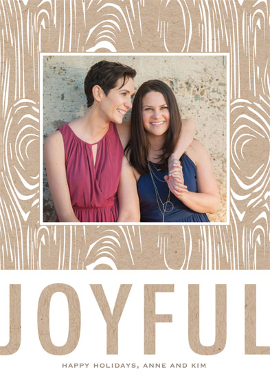 holiday photo cards - Earthy Holiday by Gray Star Design