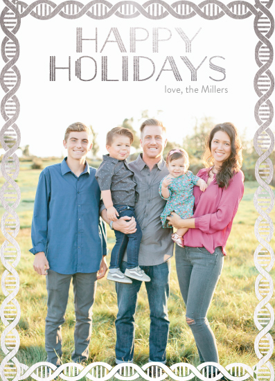 holiday photo cards - The Holidays are in our DNA by Christy Sawyer