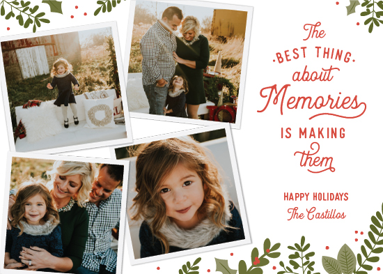 holiday photo cards - Holiday Heritage by Sarah Guse Brown