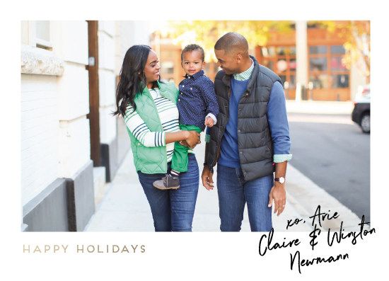 holiday photo cards - Our Signature by Kaydi Bishop