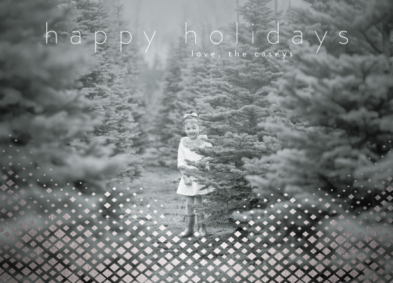 holiday photo cards - Shining Diamond Holiday by Christy Sawyer