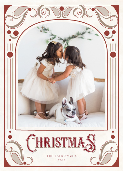 holiday photo cards - Back in Style by CaroleeXpressions