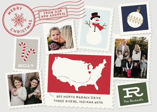 holiday photo cards - Postmark by Sarah Brown