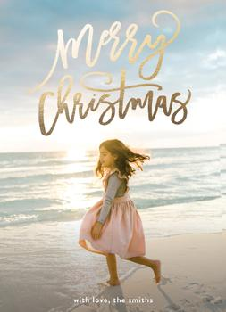 merry christmas swirls