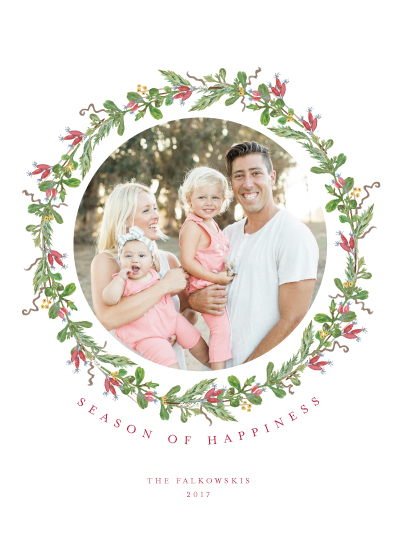 holiday photo cards - Botanical Hips by CaroleeXpressions