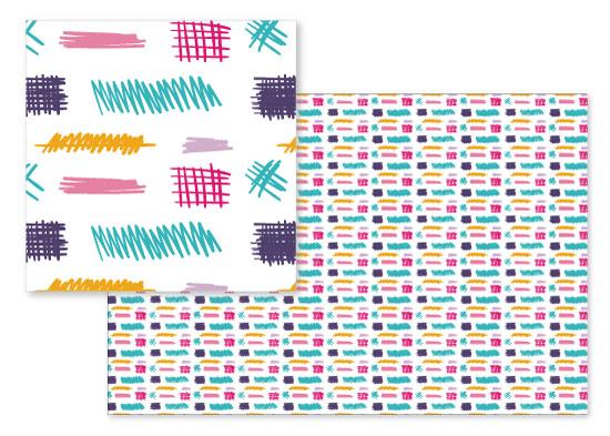 fabric - Happy Doodles by Rose Pajaroja