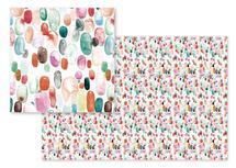 Colorful drops by Albina Bratcheva