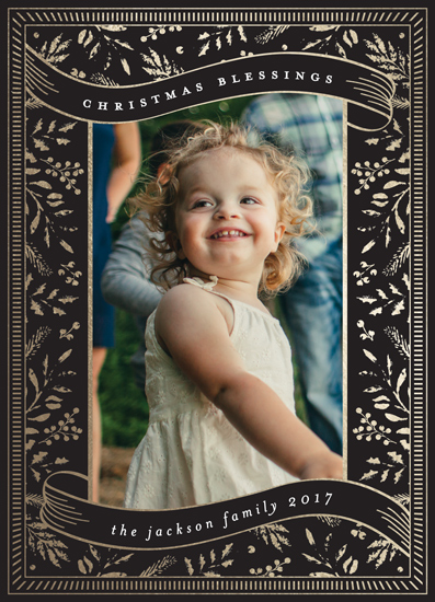 holiday photo cards - The Blessings of Christmas by Chris Griffith