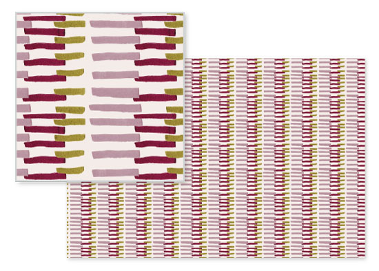 fabric - Simple Stripes by Bethania Lima