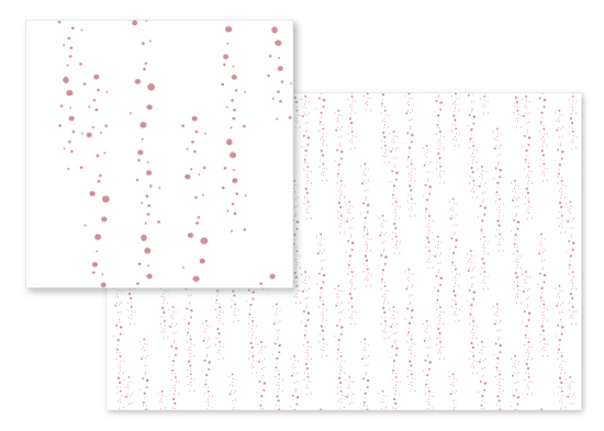 fabric - Showering Dots by Kate Ross