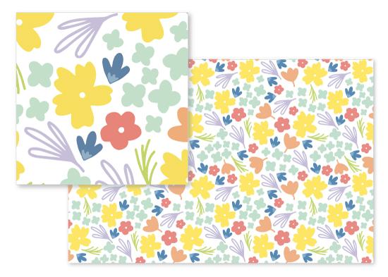 fabric - Spring Florals by Jordyn Alison Designs