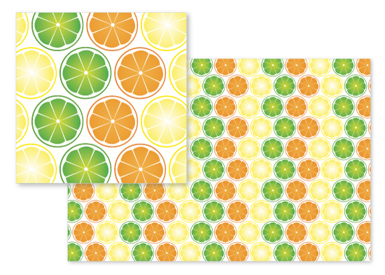 fabric - Citrus Splash by Katy Fishman