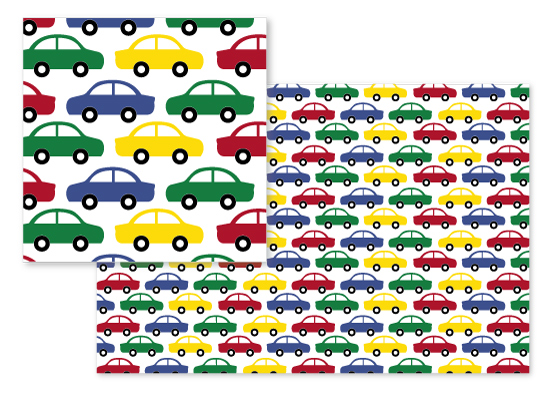 fabric - Cars by Katy Fishman