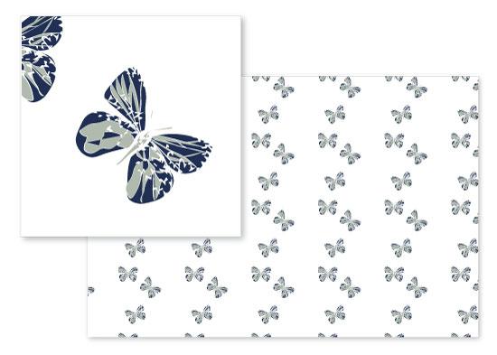 fabric - Flying Jewels by Lea Velasquez