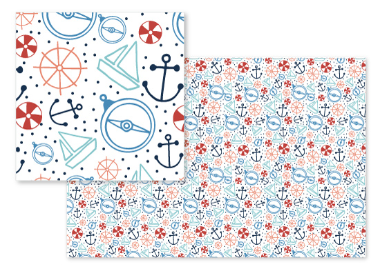fabric - Nautical Fun by Jordyn Alison Designs
