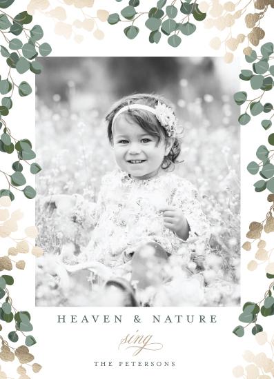 holiday photo cards - Heaven & Nature by Susan Moyal