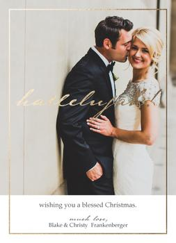 hallelujah married